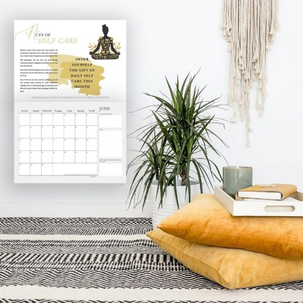 Acts of Self Care Calendar