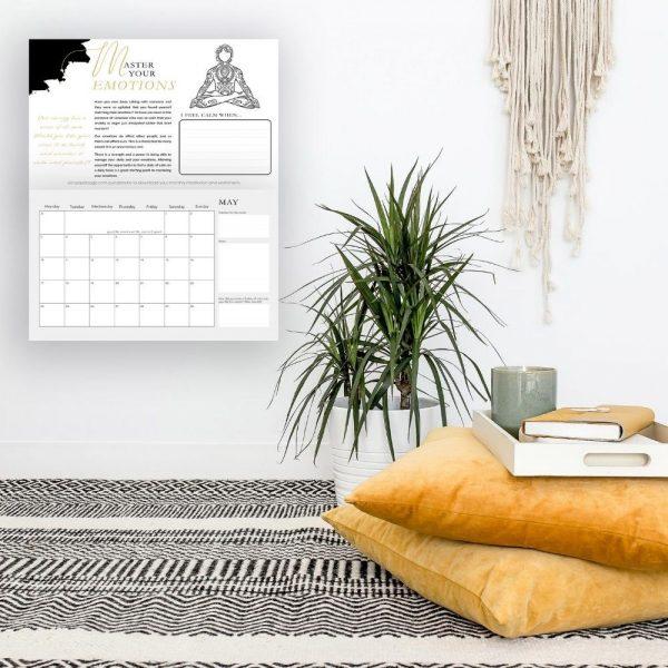 2021 Master Your Emotions Calendar