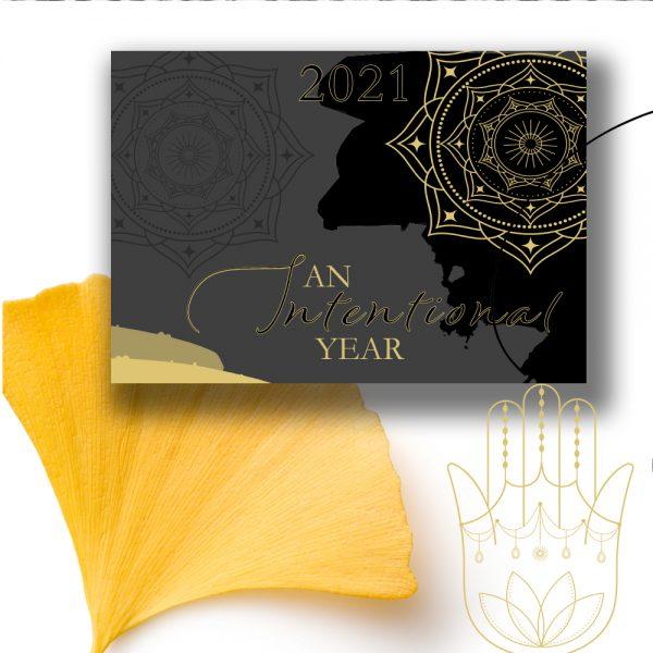 2021 Intentional Year Calendar